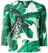 Dolce & Gabbana banana leaf brocade jacket