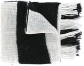 Lanvin striped scarf - men - Merino - One Size