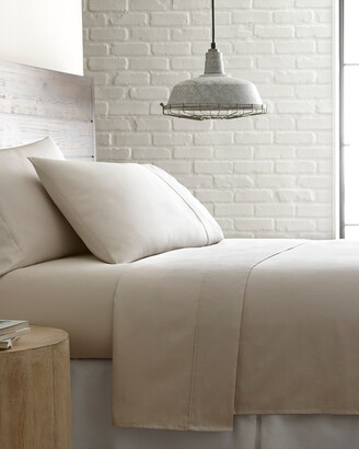 South Shore Furniture Southshore Linens Soft Shabby Chic 300 Thread Count Cotton Sateen Sheet Set