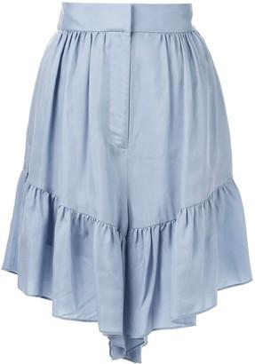 Tibi Draped shorts
