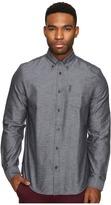 Ben Sherman Long Sleeve Herringbone Donegal Woven Shirt