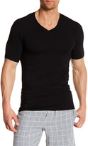 Naked Essential V-Neck Cotton Stretch Tee - 2-Pack