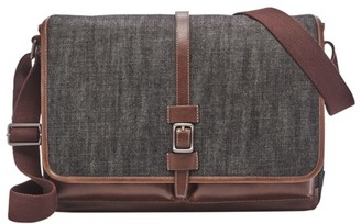 Fossil Kenton Messenger Bag Brown Multi