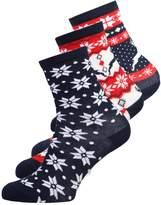 Even&Odd RUDOLPH 3 PACK Socks multicoloured