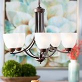 Andover Mills Hayden 5-Light Shaded Classic / Traditional Chandelier Finish: Oil Rubbed Bronze