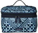Vera Bradley Luggage Lighten Up Brush Up Cosmetic Case