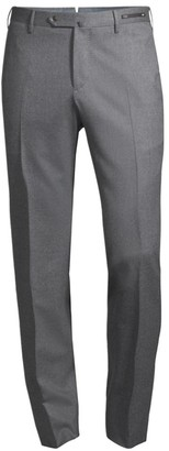 Pt01 Slim-Fit Stretch Flat-Front Trousers