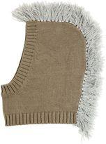 Stella McCartney Mohawk Cotton & Wool Tricot Ski Mask