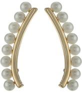 Rebecca Minkoff Pearl Climber Earrings