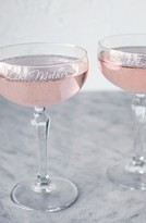Cathy's Concepts 'Mother Daughter' Etched Champagne Coupe Toasting Glasses