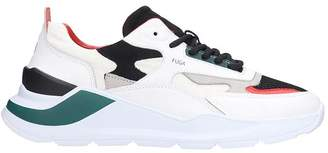 D.A.T.E Fuga Sneakers In White Leather