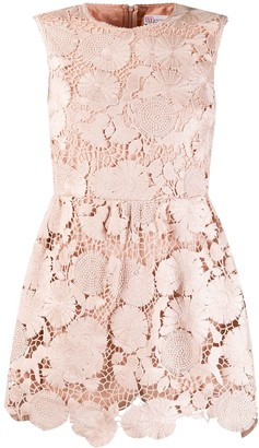 RED Valentino Lace Playsuit