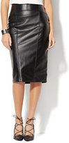 New York & Co. 7th Avenue - Faux-Leather Pencil Skirt