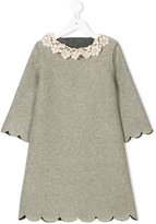 La Stupenderia lace-trimmed dress