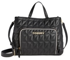 Tommy Hilfiger Emma Quilted Pvc Tote Created for Macy's