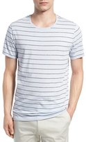 Vince Men's Shadow Stripe Cotton Blend T-Shirt
