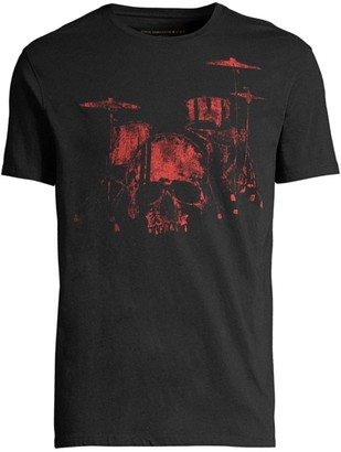 John Varvatos Drum Cotton T-Shirt