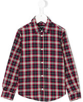 DSQUARED2 checked shirt - kids - Cotton - 4 yrs