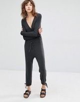 Suncoo Tina Knitted Slouchy Jumpsuit