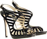 Keenan Patent Leather Sandals