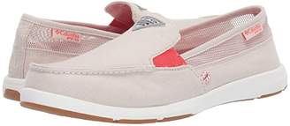 Columbia Delraytm II Slip PFG (Fawn/Red Coral) Women's Slip on Shoes