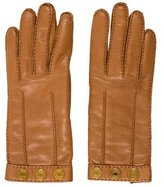 Hermes Clou de Selle Leather Gloves