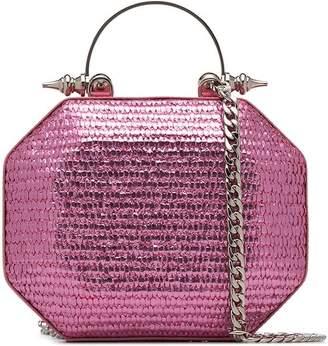 Okhtein Metallic Clutch Bag