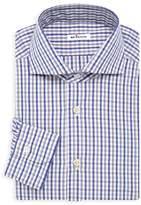 Kiton Contemporary-Fit Plaid Dress Shirt