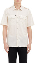 Belstaff MEN'S DARTON MILITARY SHIRT-CREAM SIZE 41