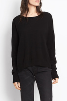 Vince Cashmere Crop Sweater
