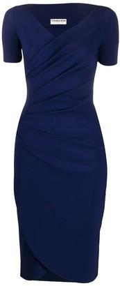 Ajak V-neck dress