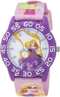 Disney Girls' Rapunzel Analog-Quartz Watch with Nylon Strap