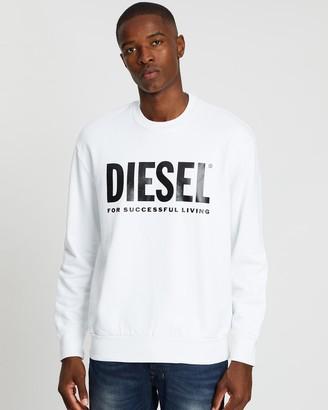 Diesel S-Crew-Division Logo Sweater
