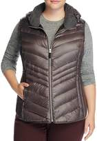 Marc New York Plus Ruby Hooded Puffer Vest