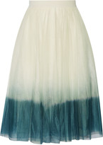 Bailey 44 Dégradé tulle skirt