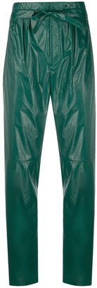 Isabel Marant High-Waisted Belted Trousers