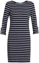 Melissa Odabash Maddie striped-knit dress