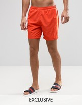 HUGO BOSS BOSS By Seabream Swim Shorts In Orange