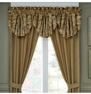 Croscill Ashton Circle Valance Bedding