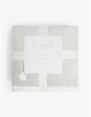 The Little White Company My First cotton-blend playmat