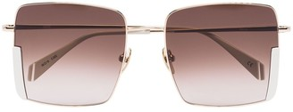 KALEOS Bennet square-frame sunglasses