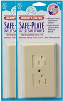 Mommys Helper Mommy's Helper Safe-Plate Outlet Cover - 25pk - Almond