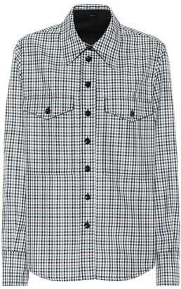 Joseph Fara checked shirt