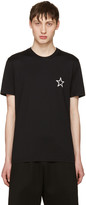 Givenchy Black Empty Star T-Shirt