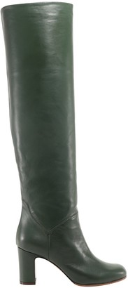 L'Autre Chose Knee-High Block Heel Boots