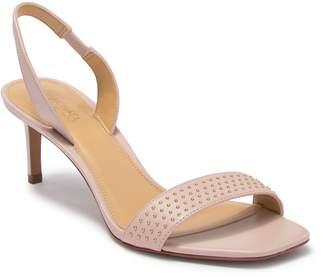 MICHAEL Michael Kors Mila Studded Leather Slingback Sandal