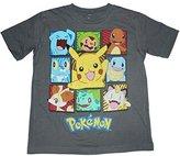 Pokemon Boxes Boys T-shirt 4-16 (Large (12/14))