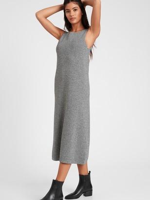 Banana Republic Square-Neck Sweater Dress