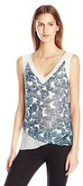 Anne Klein Women's Butterfly Tank