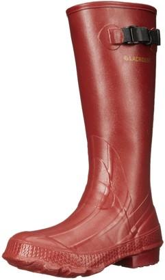 "LaCrosse Women's Grange 14"" Red Rain Boot 9 M US"